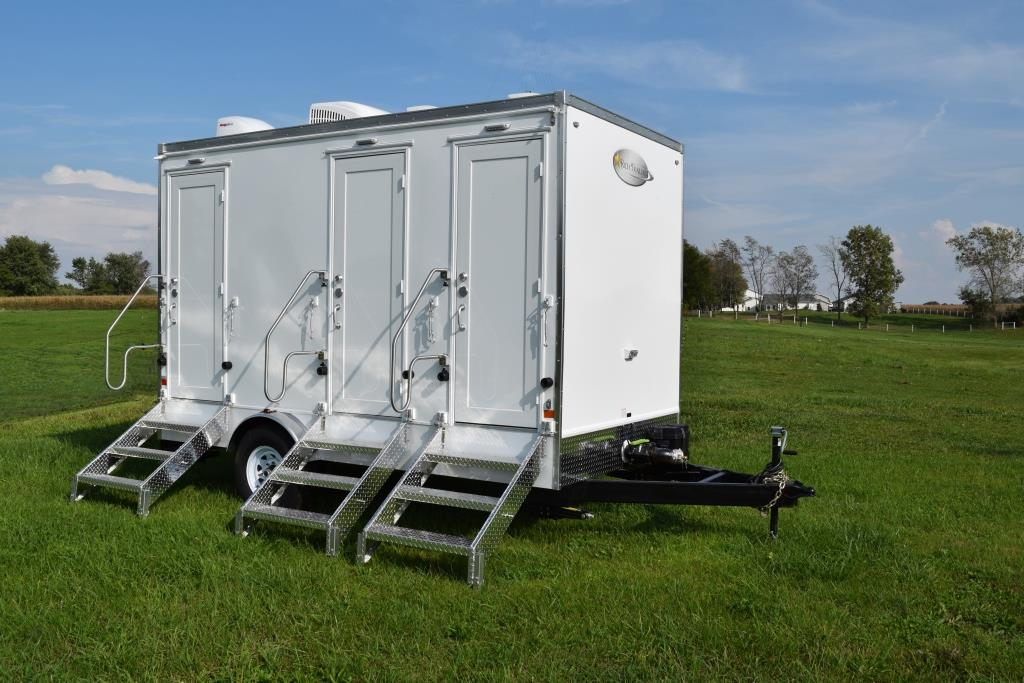 Restroom Trailers For Sale 3 Station