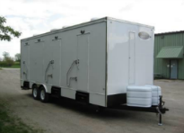 Shower Trailers for Sale 6 Station Combo Ext
