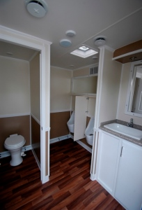 Restroom Trailers for Sale Vegas Stall