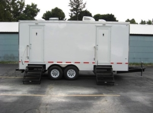 Restroom Trailers for Sale Rain