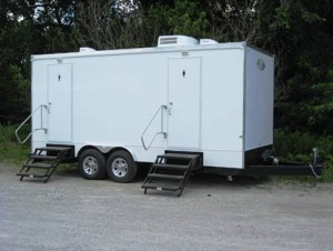 Restroom Trailers for Sale Bushes