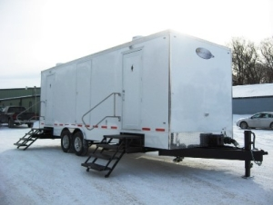Restroom Trailers for Sale Snow