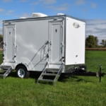portable restroom trailers for sale exterior picture