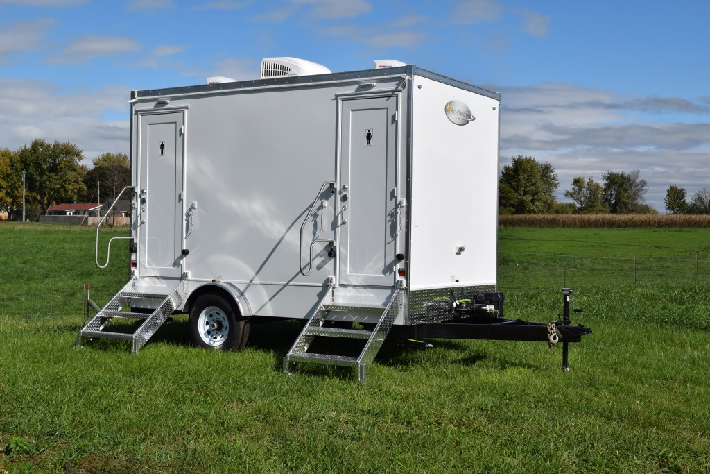 Restroom Trailers For Sale 2 Station