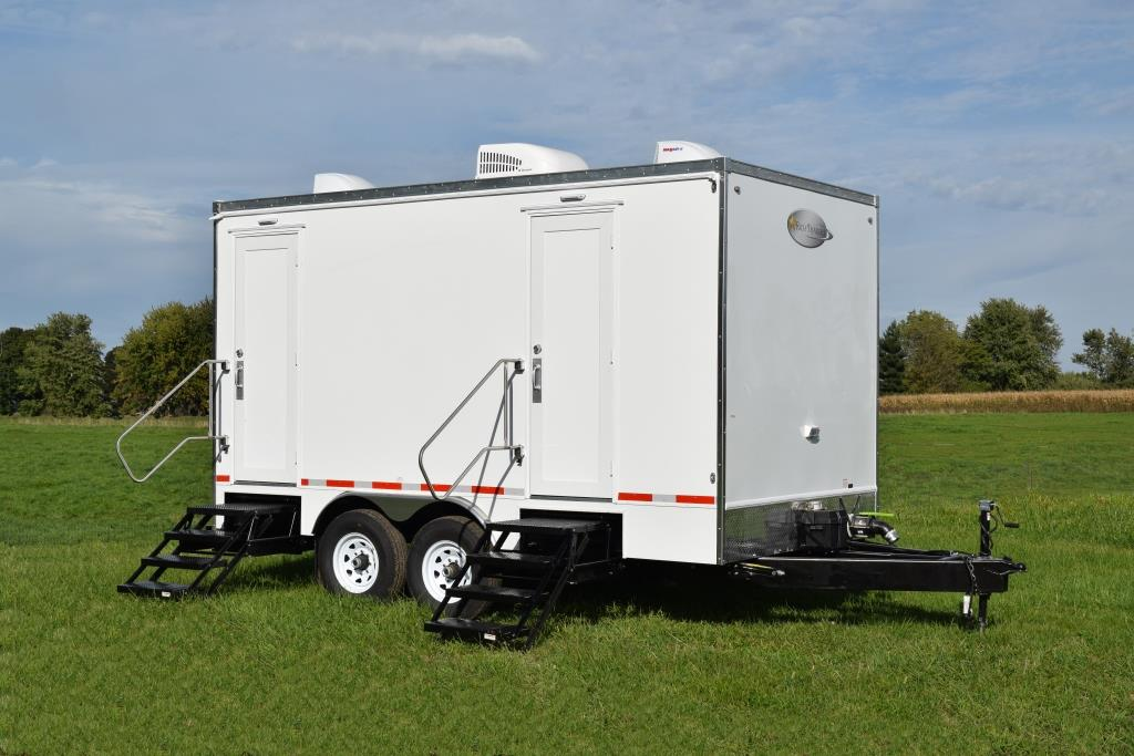 Restroom Trailers For Sale 5 Station