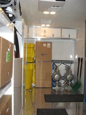 Emergency Response Trailers - interior
