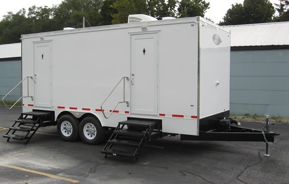 Restroom Trailers for Sale Cloud Out