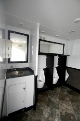 EVEREST PORTABLE RESTROOM TRAILER MODELS URINALS