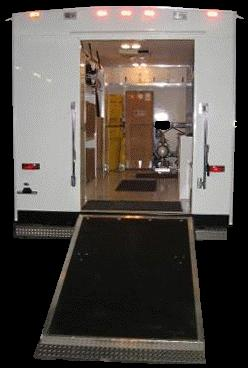 Emergency Response Trailers - Back Door