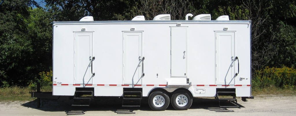 Shower Trailers by Rich Specialty Trailers