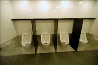 Portable Restroom Trailers - Urinals