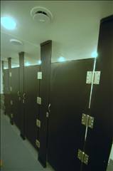 Portable Restroom Trailers - Heavy Duty Hinges