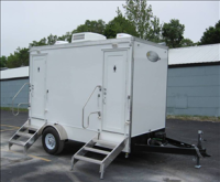 Portable Restroom Trailers - His & Hers
