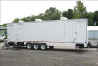Portable Restroom Trailers - Air Conditioning