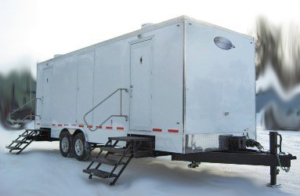 CT821 PORTABLE RESTROOM TRAILER MODELS EXTERIOR