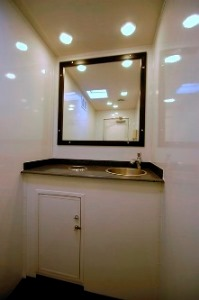 Restroom Trailers for Sale Alpine Interior