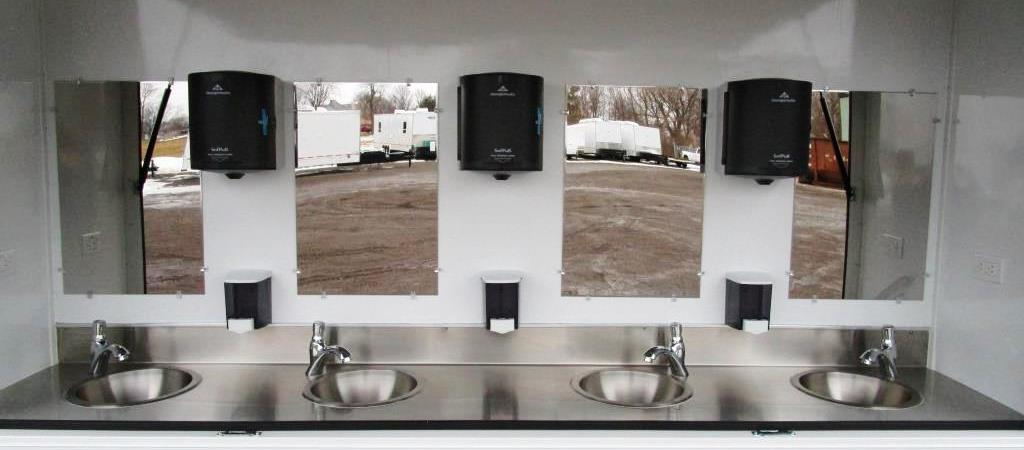 Hand Washing Trailer 8 Station