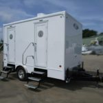 4 STATION PORTABLE RESTROOM TRAILERS