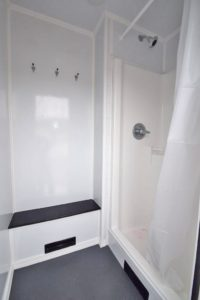 SIX STATION SHOWER STALL