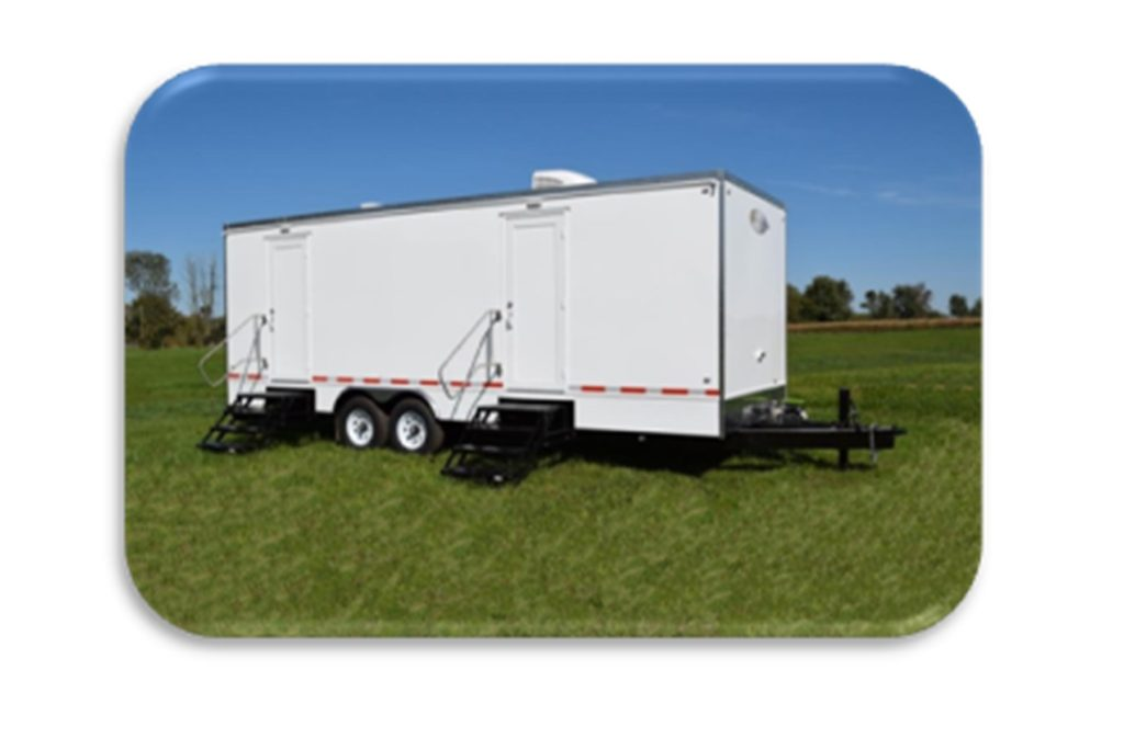 RESTROOM TRAILERS FOR SALE EXTERIIOR