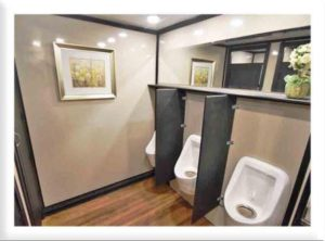 STAR TECH PORTABLE RESTROOM TRAILERS URINALS