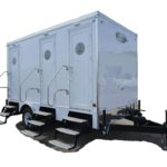 PORTABLE RESTROOM TRAILER FOR SALE EXTERIOR PIC 4